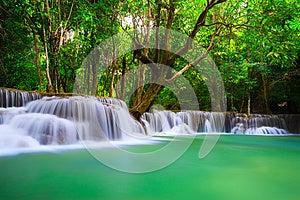 Thailand Waterfall In Kanjanaburi Royalty Free Stock Photo - Image: 27770395