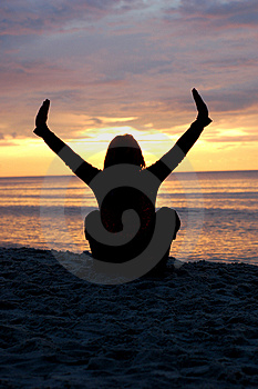 Yoga #5 Royalty Free Stock Photo