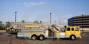 Ladder Truck Side Royalty Free Stock Photos - Image: 2788818
