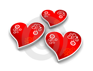 Hearts Royalty Free Stock Images - Image: 2789069