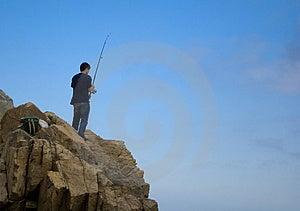 Hobbyfischen Stockfoto - Bild: 2789160