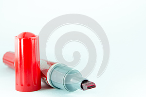 Chemical Red Pen Stock Photo - Image: 27834210