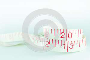 Line Tape Measure White New Year 2013 Royalty Free Stock Photo - Image: 27834235