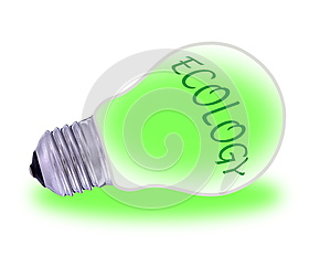 Green  Electric Energy From Renewable Sources Stock Photos - Image: 27855663