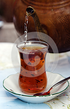 Turkisk Tea Royaltyfri Bild - Bild: 27873776