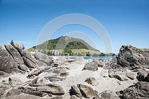Mount Maunganui, New Zealand. Royalty Free Stock Photography - Image: 27899467