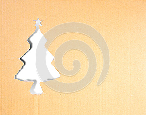 Christmas Tree Carton Paper Royalty Free Stock Image - Image: 27961106