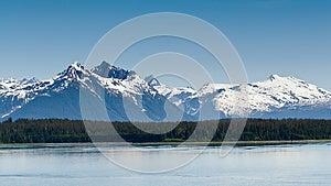 Alaska's Mountain Range Stock Image - Image: 27962411