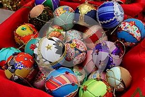 Globes For Christmas Tree Royalty Free Stock Image - Image: 27987876