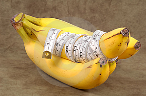 Σιτηρέσιο μπανανών Στοκ Φωτογραφία - εικόνα: 280632