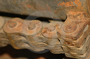 Rusty Link Stock Photos - Image: 281553