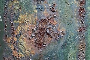 Rusted Utility Pole Stock Photo - Image: 2803930