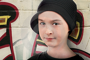 Portrait Of A Street Kid Stock Image - Image: 2809241