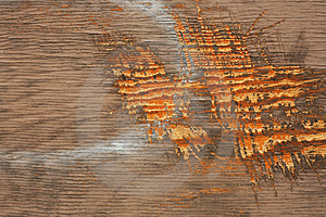 Scratches On Wood Stock Images - Image: 2809274