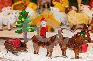 Weihnachtsingwer-Brot-Szene Lizenzfreies Stockbild - Bild: 28006716