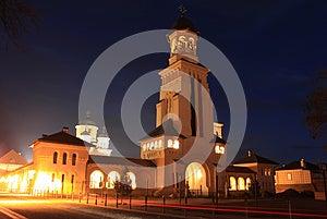 Alba Iulia At Night, Transylvania, Romania Royalty Free Stock Photography - Image: 28066577