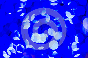 Blue And White Round Spot Stock Images - Image: 28074464