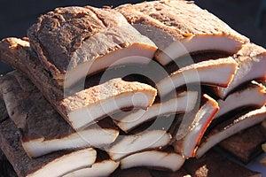 Partes Do Bacon Da Carne De Porco Fotos de Stock Royalty Free - Imagem: 28092588