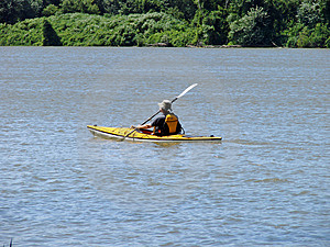 Kayaking Royalty Free Stock Photos - Image: 2811868