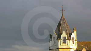 Hotel Turret Royalty Free Stock Photos - Image: 2819958