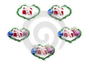 Set Of Christmas Gift Stock Photo - Image: 28122970
