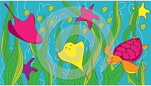 Under Sea Stock Photo - Image: 28186070