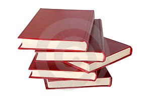 Books Stack Stock Photo - Image: 2821070