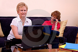 Working From Home Stock Photography - Image: 2824412