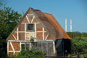 Old Brick Shed And Industry Stock Images - Image: 2825224
