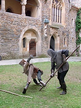 Medieval Fight Stock Photography - Image: 2825732