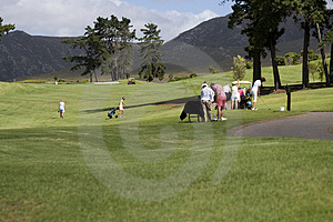 Campo Da Golf Fotografia Stock - Immagine: 2826940