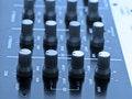 DJ audio mixer Stock Photos