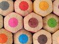 Big wooden pencils