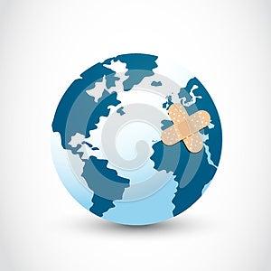 Heilen Sie Die Welt Stockfoto - Bild: 28217460