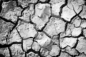Salt Ground Crack Royalty Free Stock Images - Image: 28234099