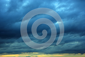 Storm. Royalty Free Stock Photo