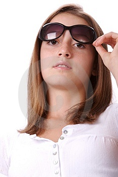 Teen In Sunglasses 3 Stock Photos - Image: 2830223