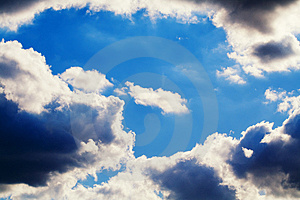 Blue Sky And Clouds Stock Photos - Image: 2836023