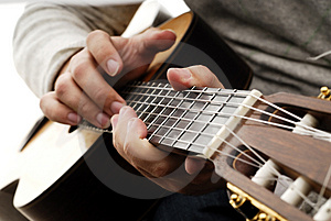 Guitar 5 Stock Photography - Image: 2839502