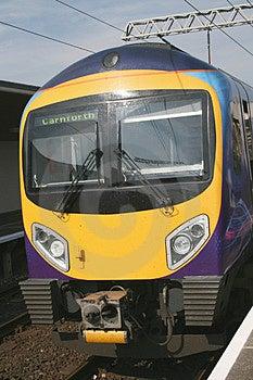 Modern Diesel Train Royalty Free Stock Images - Image: 2839679
