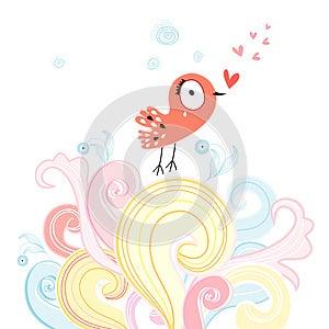 Love Bird Stock Image - Image: 28343801