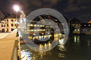 Saint Martin Bridge, Petite France Royalty Free Stock Photo - Image: 28362695