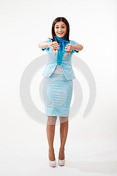 Смешной Gesturing женщины Стоковое Изображение - изображение: 28388231