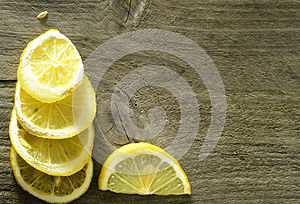 Sliced Lemon Background Royalty Free Stock Photo - Image: 28388305