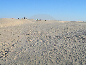 Travelling In The Desert 2 Royalty Free Stock Image - Image: 2844126