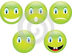 Smile Emoticon Stock Image - Image: 28409551