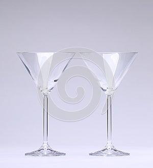 Deux Glaces De Cocktail Images libres de droits - Image: 28451619