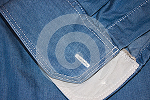 Denim Blue Royalty Free Stock Photography - Image: 28525837