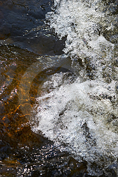 Rapids In A Small Creek Royalty Free Stock Photo - Image: 2864015