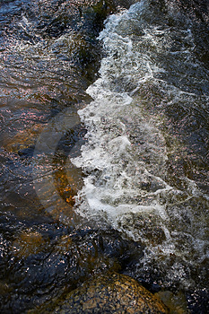 Small Rapids In A River Royalty Free Stock Photos - Image: 2864038